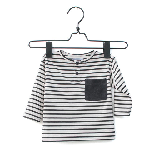 midnight stripes tee