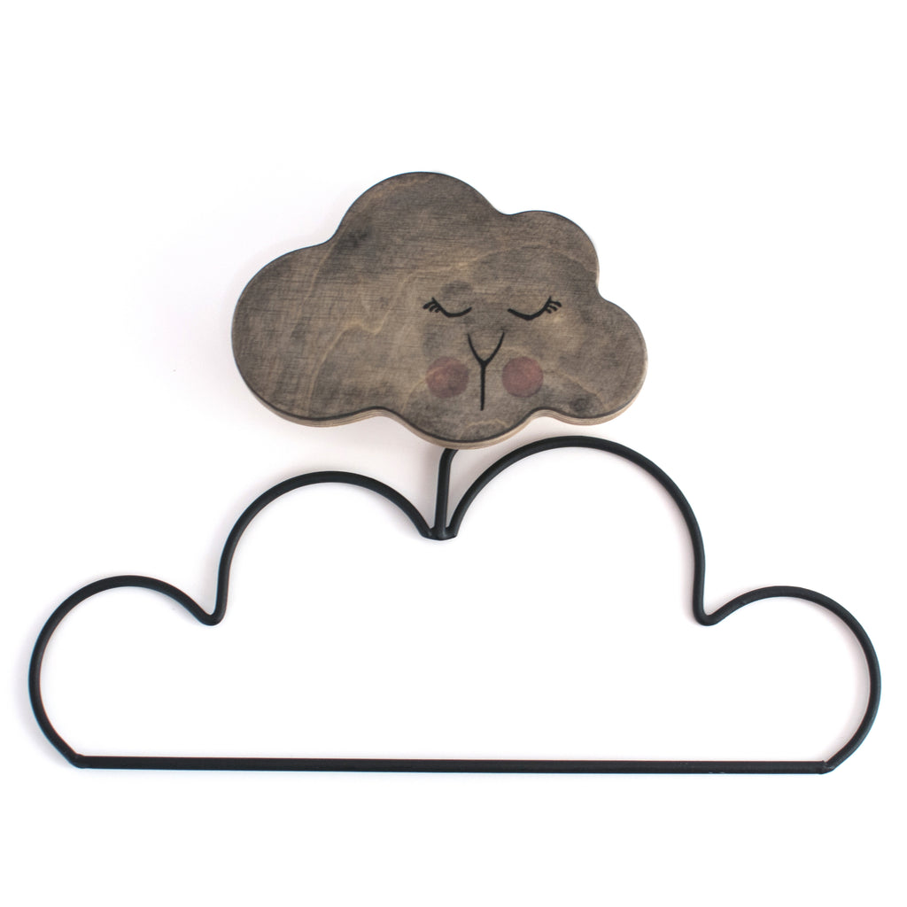loullou - handpainted cloud hook (limited edition)