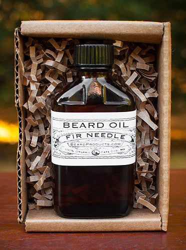 fir needle beard oil