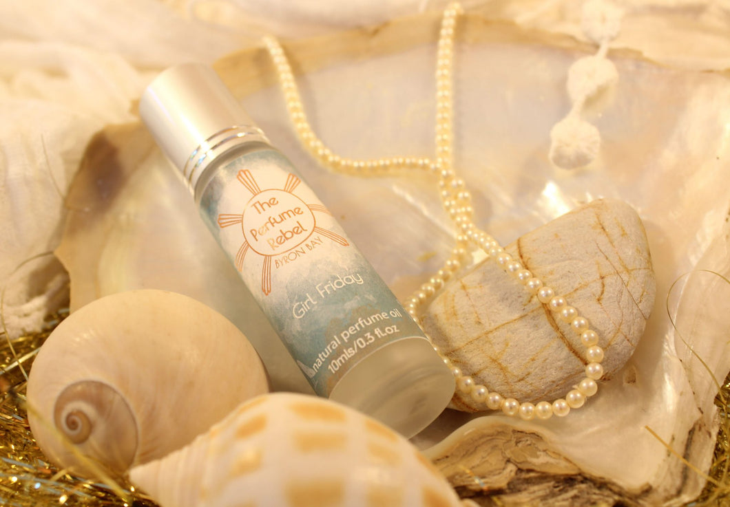 Natural Perfume - Girl Friday - The Perfume Rebel-Bath & Body-Atelier Crafers