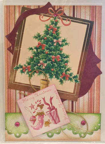 Christmas Card - Merry Christmas - Tree - Kaye Esplin
