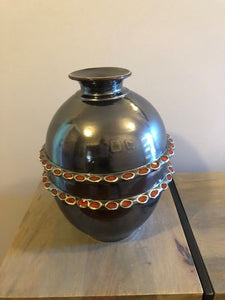 Hand built decorative pottery jar - Rodney Kirk