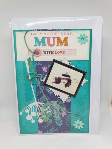 Handmade Mother's Day Cards - Happy Mother's Day Mum-Homewares-Atelier Crafers