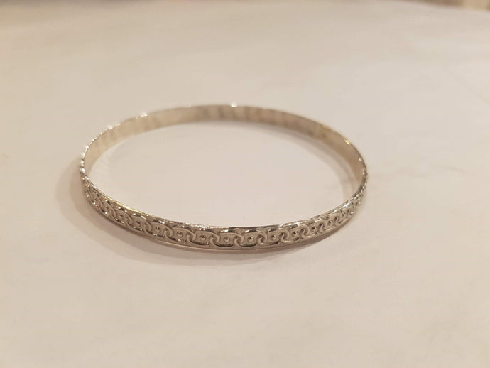 Sterling Silver Bangle - New-Jewellery-Atelier Crafers