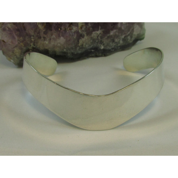 Sterling silver cuff by Silver Rose Jewellery-Jewellery-Atelier Crafers