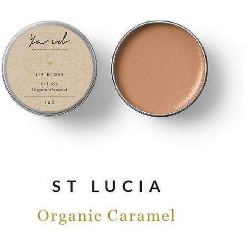 Organic Caramel Lip Bloss - Yard Skin Care-Bath & Body-Atelier Crafers