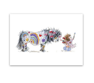 Greeting Card - Painted Pony - Mandy Foot