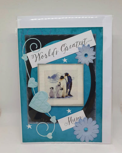Handmade Mother's Day Cards - World's Greatest Mum-Homewares-Atelier Crafers