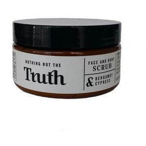 240gm Bergamot and Cypress Face and Body Scrub - Truth Cosmetics-Bath & Body-Atelier Crafers