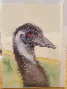Greeting Card - Emu - Paula Schetters-Homewares-Atelier Crafers