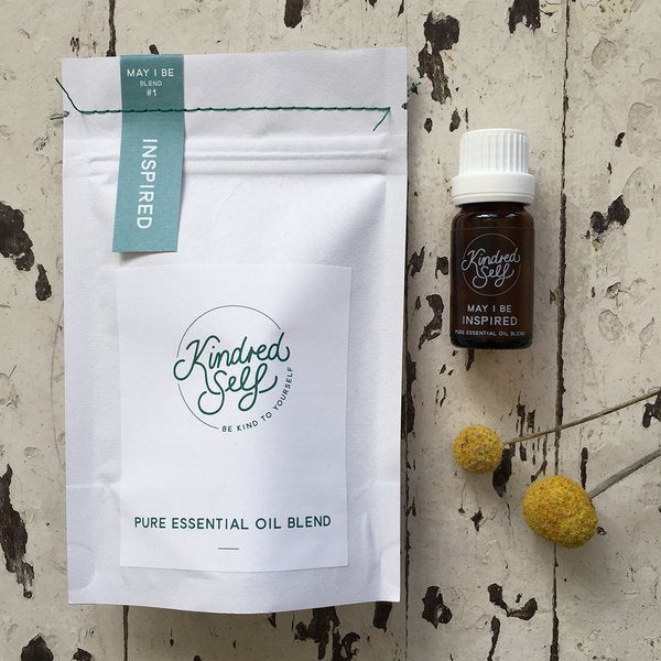 MAY I BE INSPIRED - PURE ESSENTIAL OIL BLEND - Kindred Self-Bath & Body-Atelier Crafers