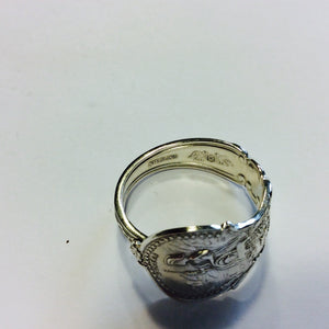 Vintage Sterling Silver California Spoon Ring-Jewellery-Atelier Crafers