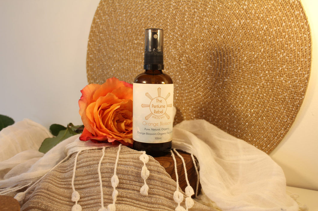 Organic Orange Blossom Facial Mist - 100ml - The Perfume Rebel-Bath & Body-Atelier Crafers