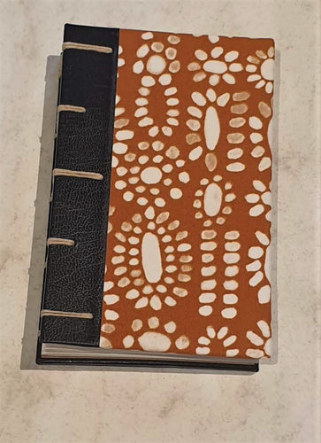 Small Coptic Bound Journal - Handcrafted - Robyn Higgins