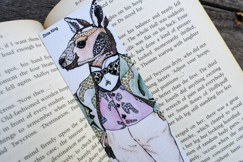 'Kangaroo' Bookmark-Stationery-Atelier Crafers