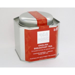 ENGLISH BREAKFAST TEA CADDY TIN-Homewares-Atelier Crafers