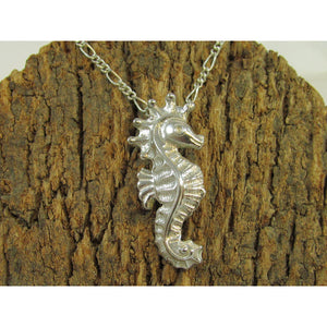 Sterling Silver Seahorse Pendant - Silver Rose Jewellery-Jewellery-Atelier Crafers