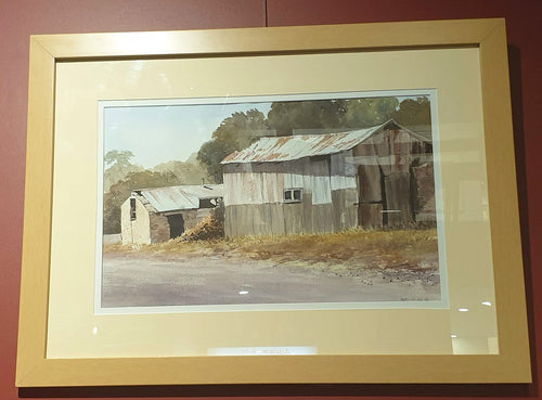 Aldinga Heritage - watercolour by Robin Hicks-Art Gallery-Atelier Crafers