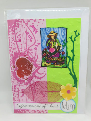 Handmade Mother's Day Cards - Mum, you are one of a kind-Homewares-Atelier Crafers