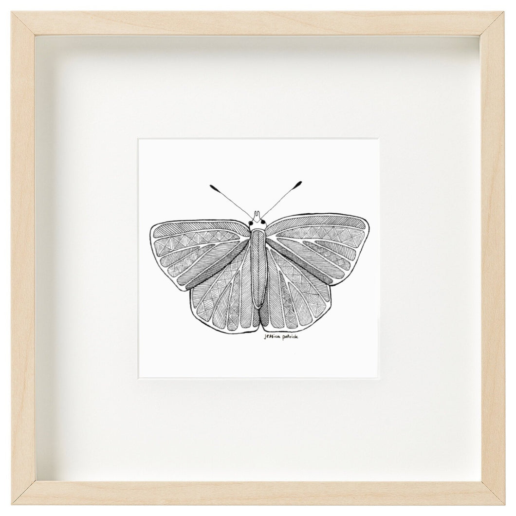 Tiwi Butterfly - Unframed mini print-Homewares-Atelier Crafers