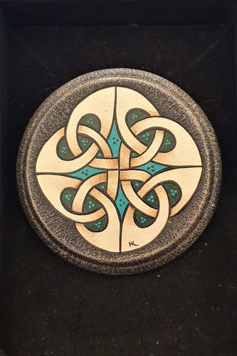 Small Celtic  Brooch #10 - Helen Kuster