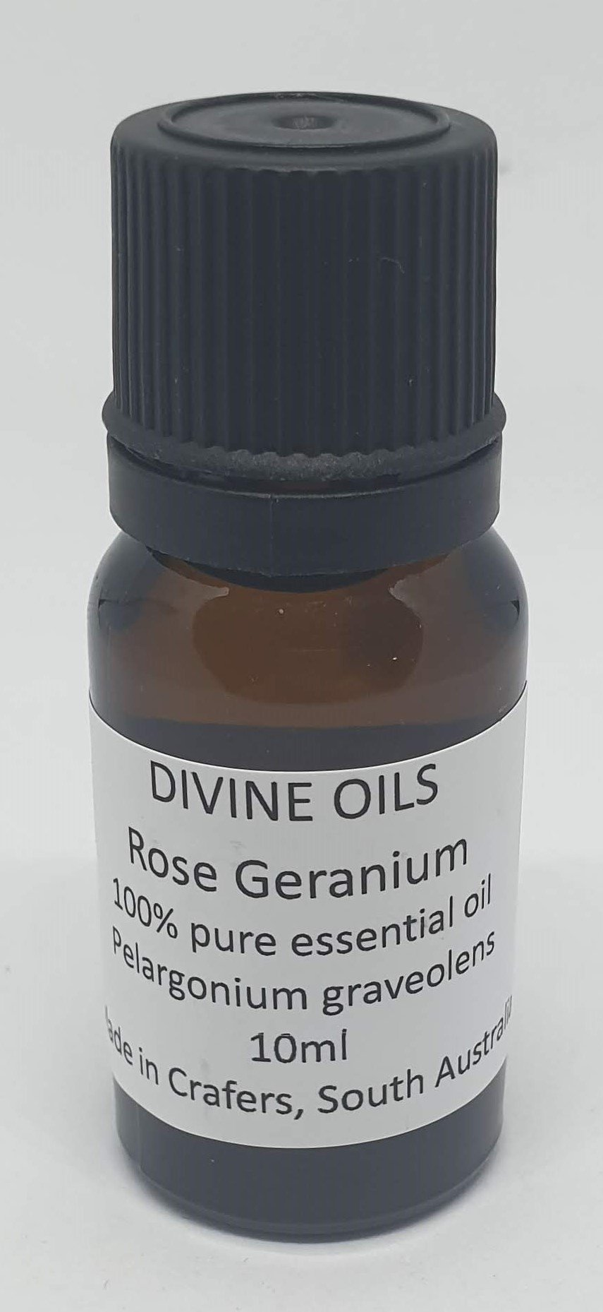 Rose Geranium 100% Essential Oil 10ml - Divine Oils-Bath & Body-Atelier Crafers