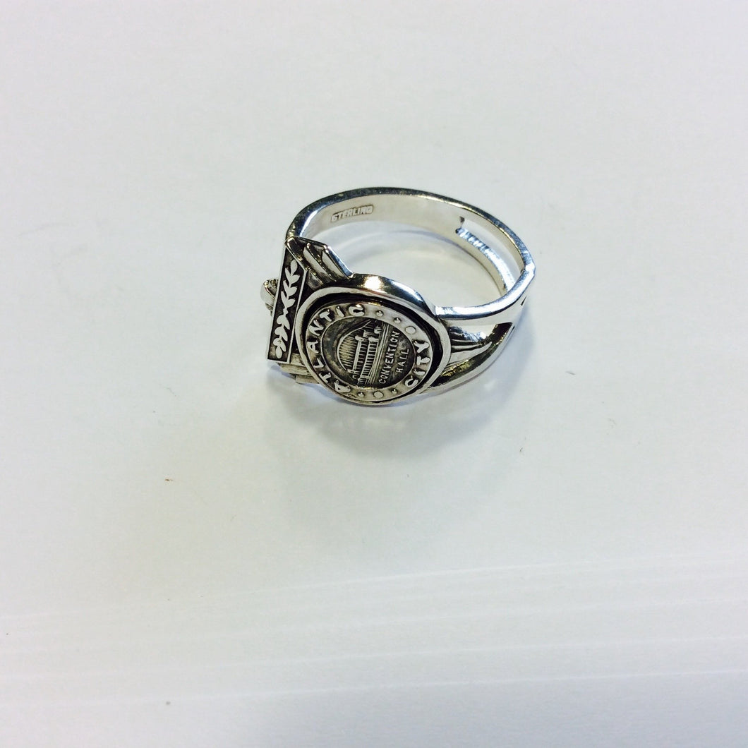 Atlanta City Sterling Silver Spoon ring-Jewellery-Atelier Crafers