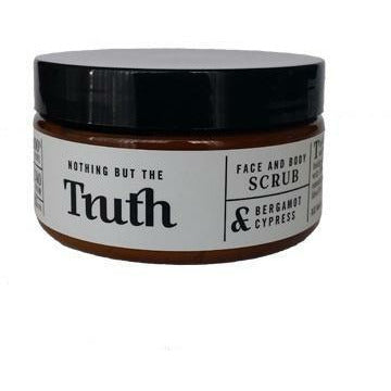 100gm Bergamot and Cypress Face and Body Scrub - Truth Cosmetics-Bath & Body-Atelier Crafers