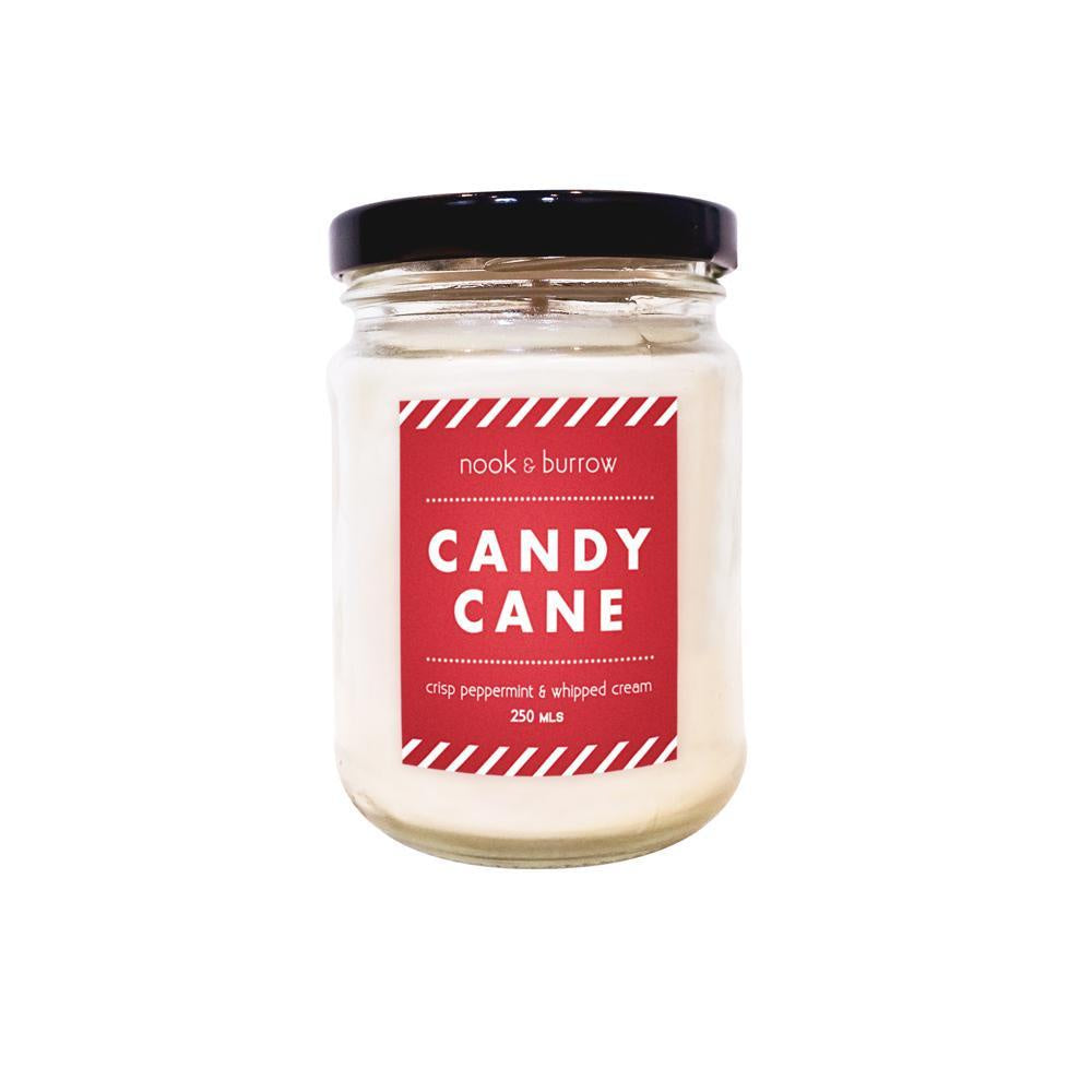 Candy Cane | candle 250ml - 25+ hr burn time-Homewares-Atelier Crafers