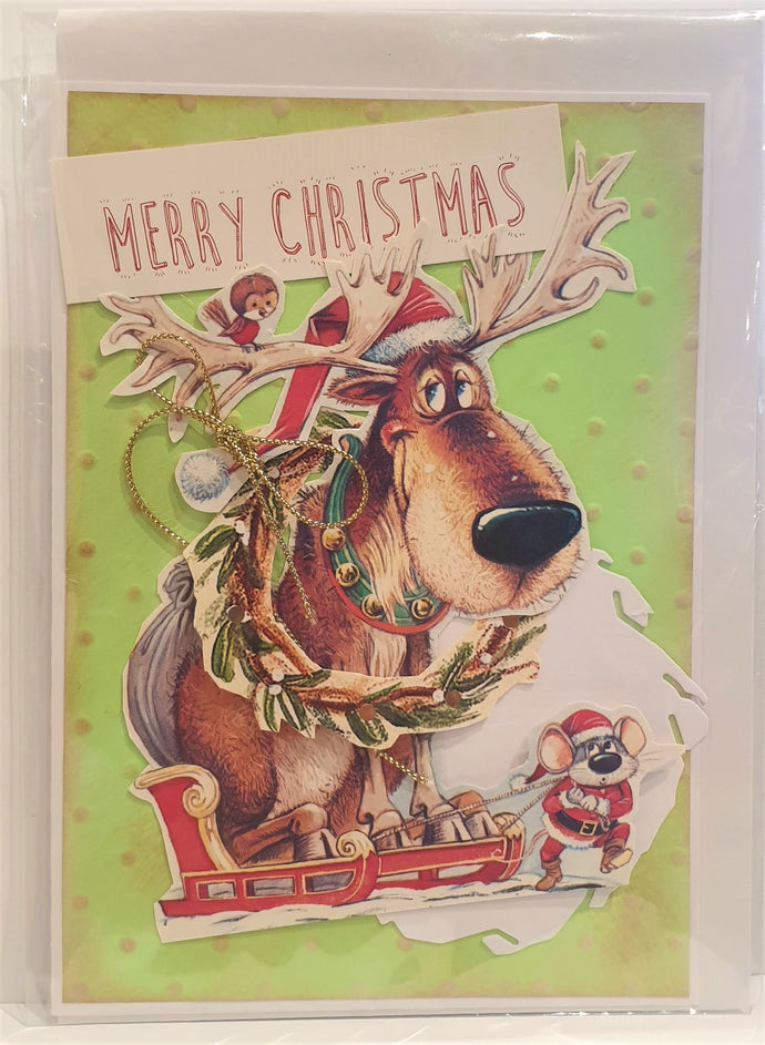 Christmas Card - Handmade - Merry Christmas - Kaye Esplin