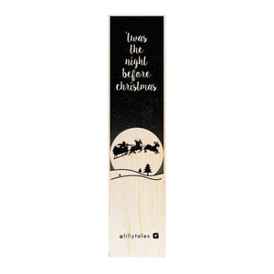 Night Before Christmas | wooden bookmark-Stationery-Atelier Crafers
