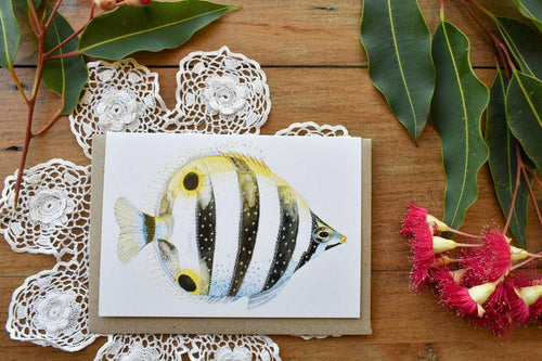 Greeting Card - Moonlighter Fish - Zinia King-Homewares-Atelier Crafers