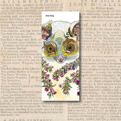 'Ringtail Possum' Bookmark-Stationery-Atelier Crafers