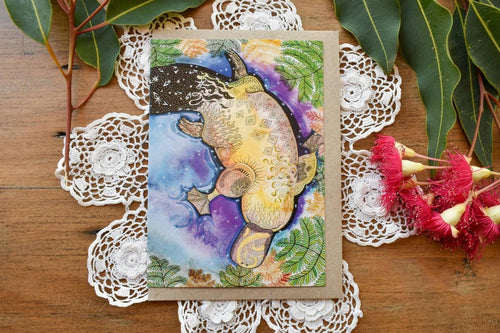 Greeting Card - Platypus Dreams by Zinia King-Homewares-Atelier Crafers