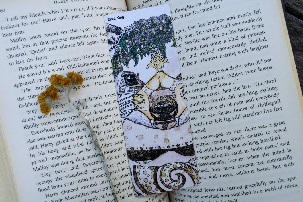 'Tasmanian Devil' Bookmark-Stationery-Atelier Crafers