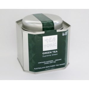 GREEN TEA CADDY TIN-Homewares-Atelier Crafers