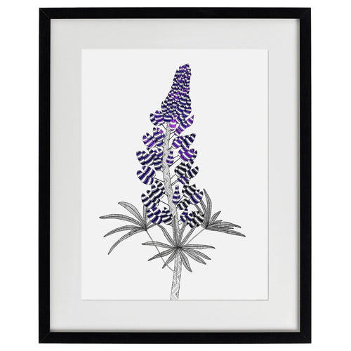 Lupin - limited edition archival quality giclée print - Atelier Crafers