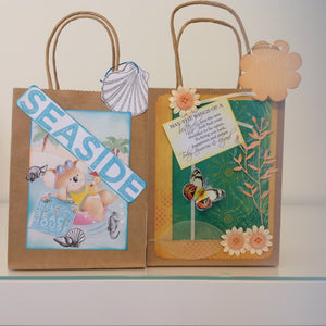 Embellished Gift Bags-Cards & Stationery-Atelier Crafers