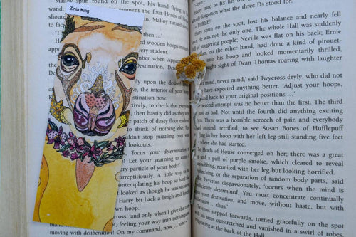 'Tree Kangaroo' Bookmark-Stationery-Atelier Crafers