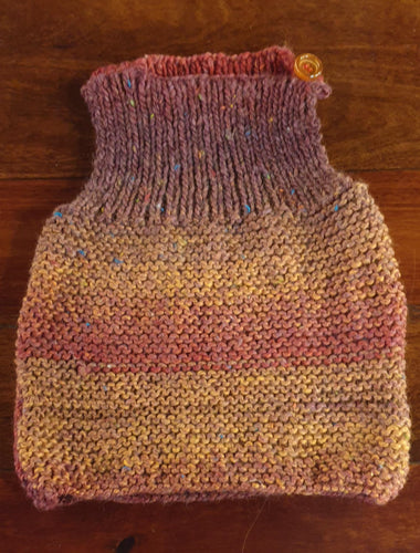 Hand knitted Vest Fits 2-3 years - Muted pinks-Children-Atelier Crafers