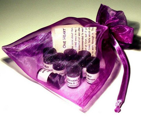 Essential Oil Chakra Kit-Bath & Body-Atelier Crafers