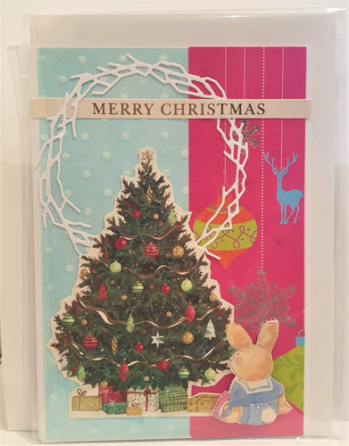 Christmas Card - Handmade - Merry  Christmas