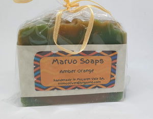 Man Soap - Amber and Orange-Bath & Body-Atelier Crafers