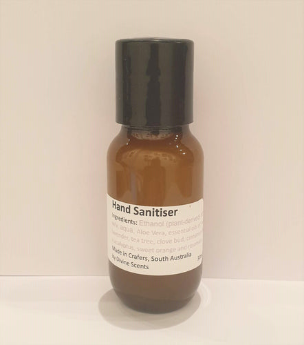 Aromatherapy Hand Sanitiser gel - Divine Scents-Bath & Body-Atelier Crafers