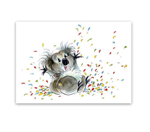 Greeting Card - Koala Me Happy Too-Homewares-Atelier Crafers