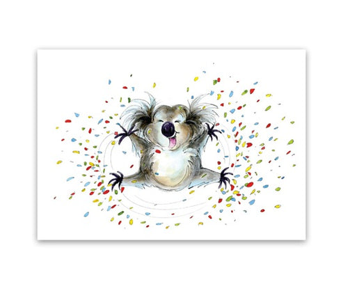 Greeting Card - Koala Me Happy-Homewares-Atelier Crafers