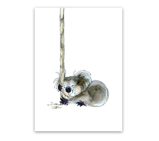 Greeting Card - Koala Snooze-Homewares-Atelier Crafers