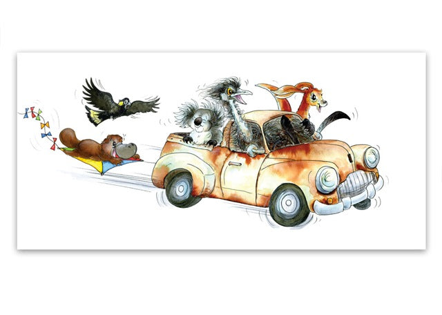 Greeting Card - Rusty Ute-Homewares-Atelier Crafers