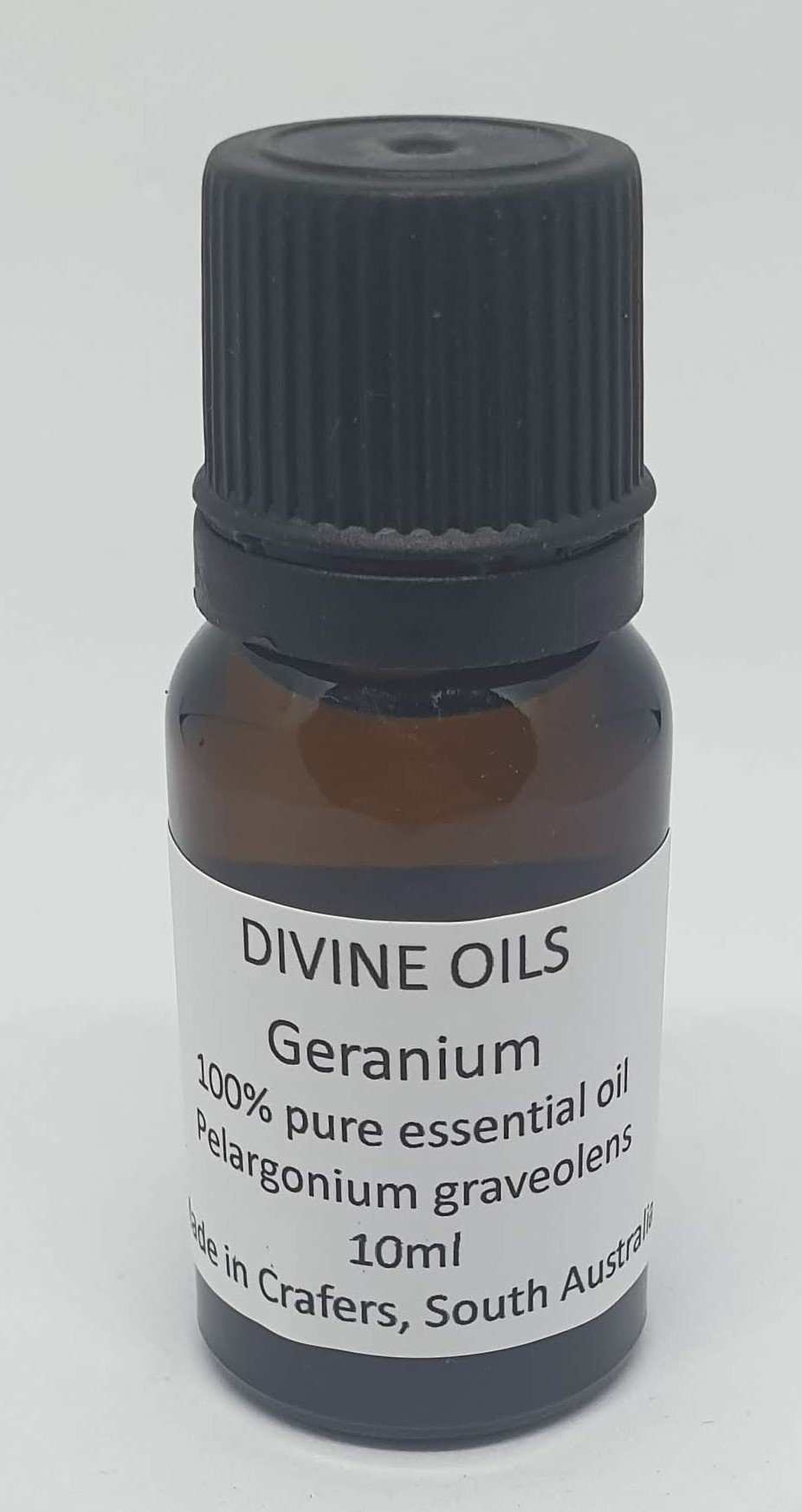 Geranium 100% Essential Oil 10ml - Divine Oils-Bath & Body-Atelier Crafers