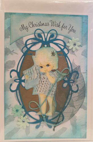 Christmas Card - Handmade - My Christmas Wish for You - Kaye Esplin